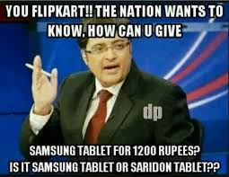 The Flipkart Show: Best Hilarious memes on the 'Big Billion Day ... via Relatably.com