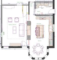 Kitchen Design Floor Plan And Custom Kitchen Designs Using Beautiful  Enrichments In A Well Organized Arrangement