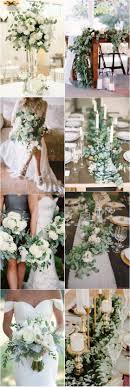Eucalyptus green wedding color ideas / http://www.deerpearlflowers.com/