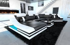 White Gloss Furniture For Living Room Black White Living Room Black And White Contemporary Furniture