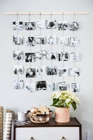 diy family photo wall hanging photo