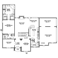 Seldovia Southern Colonial Home Plan D    House Plans and MoreSouthern House Plan First Floor   D    House Plans and More