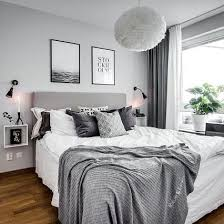 Black White Gray Bedroom Ideas