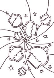 Fluffy Cupcake Printable Cupcake Coloring Pages