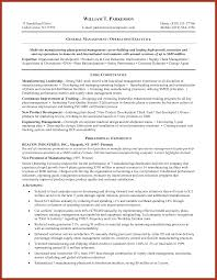 General Objective For A Resume An On Labor Generic Samples Business