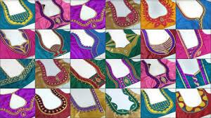25 Beautiful back neck <b>blouse designs</b> 2018 || <b>Women's fashion</b> ...