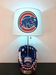 chicago cubs lamp baseball light
