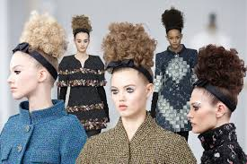 Chanel Hair Style chanelateliers updo hairstyles 20162017 fallwinter couture 2563 by stevesalt.us