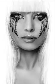 dark angel makeup cool photo effect