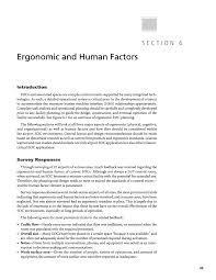 Interior Design Process Checklist Section 6 Ergonomic And Human Factors Design