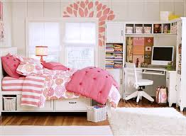 girls modern bedroom furniture. interior design beauteous modern bedroom for teenage girls showing white mahogany wood corner computer desk connected furniture s