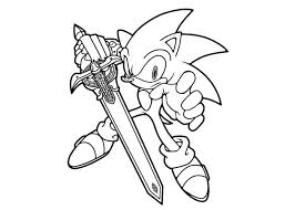 Small Picture Sonic Coloring Pages Print Free Keanuvillecom