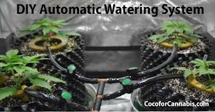 diy automatic watering system for
