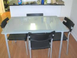 ikea glass top dining table elegant glass dining table boundless table ideas glass top dining table