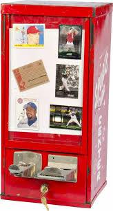 Baseball Card Vending Machine For Sale Beauteous 48 CoinOp Sports Card Center Baseball Card Vending
