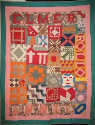 63 best images about Quilts: Antique & Vintage on Pinterest & SAMPLER ANTIQUE QUILT, signed ELMER, ANNIE ROLLO, Laura Fisher Adamdwight.com