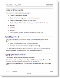 Manual Glossary Template Free Wiring Diagram For You
