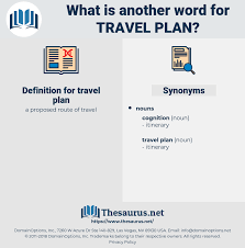 Another Word For Itinerary Is Synonyms For Travel Plan Thesaurus Net