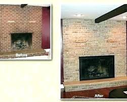 resurface a brick fireplace refacing fireplace ideas refinish resurface brick fireplace ideas cost to reface brick resurface a brick fireplace