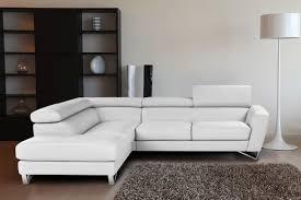 white italian furniture. CADO Modern Furniture - SPARTA Italian Leather Sectional Sofa White V