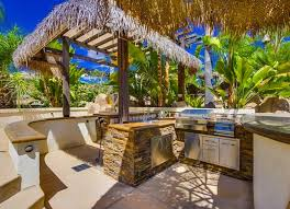 Tropical Outdoor Kitchen Designs New Decorating Ideas