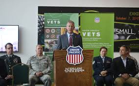 UP honors nation's military veterans with Omaha event | Trains Magazine