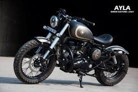 royal enfield clic 350 tastefully