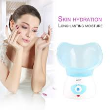 cold and hot deep cleaning facial cleaner beauty face steaming device nano steamer machine