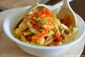 Znalezione obrazy dla zapytania salad of raw carrots and cabbage pickle