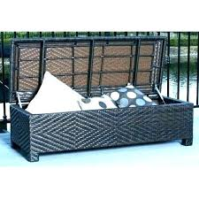 wicker bench with storage outdoor wicker storage bench kitchen alluring outdoor wicker storage bench of wing