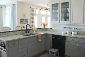 chalk painted kitchen cabinets. Exellent Cabinets Why I Repainted My Chalk Painted Cabinets Intended Kitchen H
