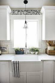 Lighting Over Kitchen Sink Beauteous Kitchen Sink Decor