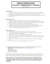 Assistant Sample Resume Office Assistant