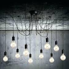 chandeliers bulb chandelier medium size of pendant bulbs light shades exposed europa 1910 edison bronze multi