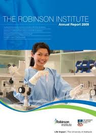By Robinson Annual Institute Adelaide Report University Of 2009 The I6vIq