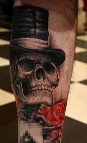 100 úžasné Tetování Vzory Lebky Punditschoolnet