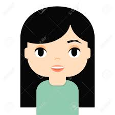 Cartoon With 115132420 Free Happy Woman Illustration Image Avatar And Cliparts Royalty Character Vectors Female Stock Smiling Face