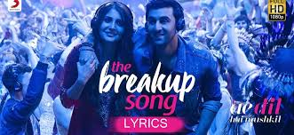 the breakup song s ae dil hai mushkil arijit singh badshah ranbir hka