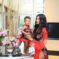 Ex – Supermodel Priscilla Ray Twins With Daughter in High Impact Printed  Outfits – SatisFashion Uganda