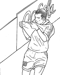 Small Picture Coloring Pages French national soccer team Drawing