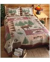 Amazing Deal on Loon Peak Owego Moose Lodge 3 Piece Reversible ... & Moose Lodge Quilt Set 3 Pieces Adamdwight.com