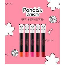 tony moly panda s dream glossy lip crayon 1 5g