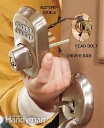 front door keyUpgrade Front Door Locks With Keyless Door Locks  Family Handyman