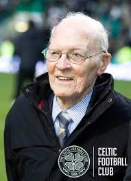 Who were Celtic's Scottish Cup opponents on the day when oldest living Celt Bill Boland was presented to ... - bill-boland1