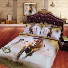 medium size of bedroom fantastic horse bedding sets beautiful gold white 3d five horse design