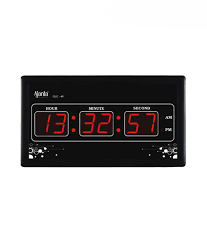 ajanta modern digital wall clock olc 40