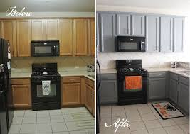 painted kitchen cabinets before and after. Unique Before Kitchen Cabinets Side By Wwwgustoandgraceblogcom And Painted Before After