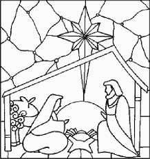 Manger Scene Drawing At Getdrawingscom Free For Personal Use