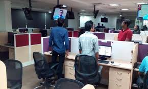 office pics. one india office pics