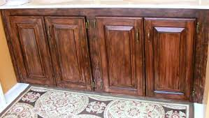 Dark Stain Kitchen Cabinets Staining Oak Cabinets Darker Paint Colours
